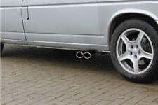 FOX Sportauspuff VW T4 - 2,5l TDI Sidepipe Ausgang an der Fahrerseite – 2x106x71