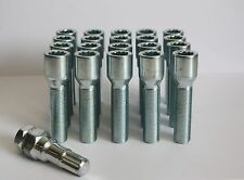 M14 X 1.5 55MM LONG TUNER SLIMLINE ALLOY WHEEL BOLTS FIT SEAT TOLEDO 5 STUD ONLY