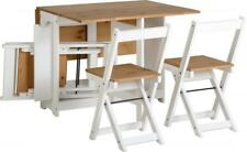 Santos Dining and Display Range and Bookcase in Distressed Waxed Pine White