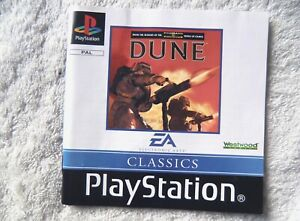 74357 Instruction Booklet - Dune - Sony PS1 Playstation 1 (1999) SLES 02247