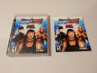 WWE SmackDown vs Raw 2008 Featuring ECW Sony PS3 Complete with Manual