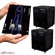 VocoPro Eventman 230 Large Rolling Venue System Vx-30 Ii Pa Loudspeakers + Amp
