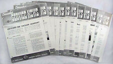 1939 Chevrolet Service News Chevy Shop Manual Revisions 39 Car Truck Bulletins