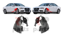 FOR AUDI A4 B8 2011 - 2016 NEW FRONT FENDER MUD GUARD SPLASH ARC PAIR SET