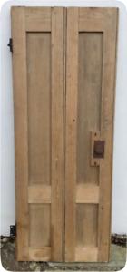 Antique Pine Shutter - Original Reclaimed 18th Century Georgian Single Twin Leaf