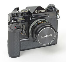 Canon F-1 with Power Winder F and Canon S.C FD 1.8/50mm No.556756