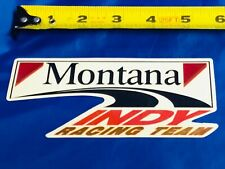 Indianapolis Indy 500 19?? BUDDY LAZIER Hemelgarn Montana Racing Team Decal NEW!