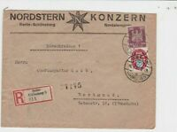 germany  1926 berlin registered   stamps cover  ref r13557