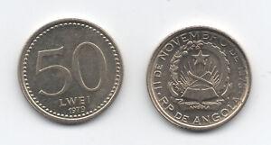 Angola, 50 Lwei 1979 KM 90 UNC Coppernickel
