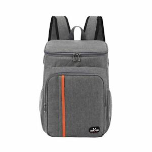 Large Cooler Bag Leakproof Lunch Backpack Thermal Picnic Cool Warm Insulated Box