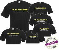 Cotton Blend Patternless Personalised T-Shirts for Men