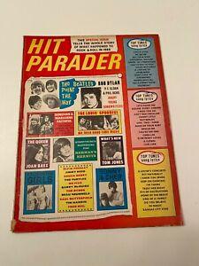 JAN 1966 DEC 1967  HIT PARADER ZAPPA ROLLING STONES STAX BEATLES DYLAN