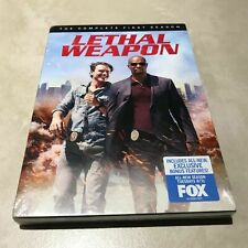 Lethal Weapon: The Complete First Season 1 (DVD, 2017, 4-Disc Set) New