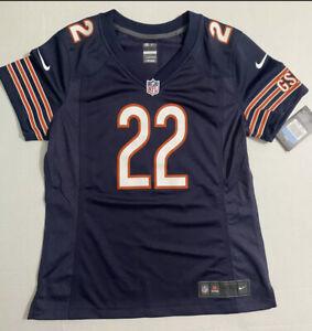 Chicago Bears #22 MATT FORTE  Football nike on field NFL Jersey Womens M