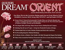 Quilters Dream Orient Batting Craft Size Batting-Free Us Shipping!