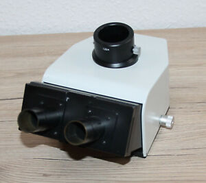 Leitz Mikroskop Microscope Trinokulartubus für Ergolux 512761/20