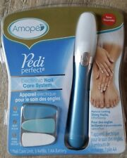 AMOPE PEDI PERFECT ELECTRONIC NAIL CARE SYSTEM PEDICURE MANICURE - BRAND NEW