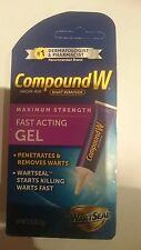 Compound W verruga remover, Fuerza máxima, gel de acción rápida 7g