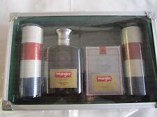 Wrangler Pork Gear Fancy Gift Set:MEN Cologne 3.4 OZ Spray, Porker 80 Chips,Etc.