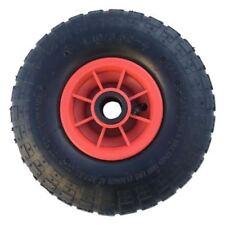 """10"""" neumáticos de 4.10 - 4 con 16 mm diámetro Saco Camión Carro Rueda Centro De Plástico"""