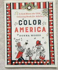 Color America Adult Coloring Book