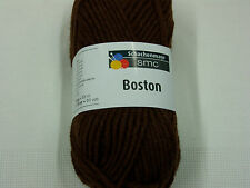 500g Boston Schachenmayr wolle Farbe 10/schoko 50g/55m