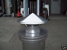 8'' Dura Replacement Chimney Cap Assembly (12 1/2 OD)