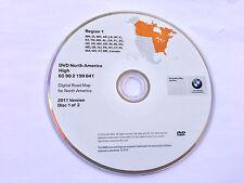 OEM 2011 Update EAST Coast 2003 2004 2005 2006 BMW X5 M3 Mini Navigation DVD Map