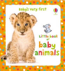 Usborne Baby's Very First Book of Baby Animals **NEW HARDBACK**