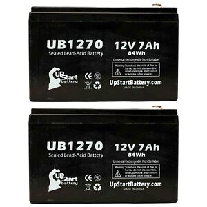 2x 12V 7Ah Sealed Lead Acid Battery For Cyberpower CP1200AVR UB1270