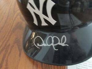 Mint Derek Jeter ROOKIE 1995 Autographed Full Size NY Batting Helmet - JSA LOA