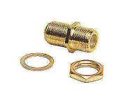 RV Designer T187 Gold Interior Coaxial Cable Splice