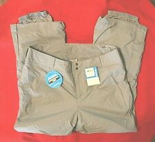 Columbia Gray Snow/Ski Pants size 1X/16W/18W retail $110