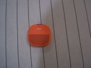 BOSE SOUNDLINK MICRO WATERPROOF WIRELESS BLUETOOTH SPEAKER COLOR ORANGE