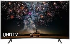 Samsung UE55RU7300KXXU 55 Inch Ultra HD Curved HDR Smart WiFi LED TV - Black.