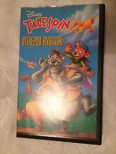 VHS WALT DISNEY TELESPIN REGALO BAMBINI