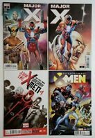 🔥🔥 X-MEN 4 COMIC LOT MAJOR X #0 2 UNCANNY XMEN 1 EXTRAORDINARY X-MEN 8 VARIANT