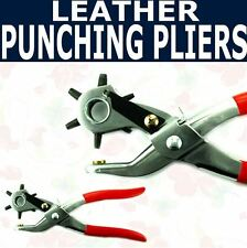 Watch Band Leather Strap Belt Hole Punch Pliers Tools
