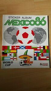 PANINI WORLD CUP MEXICO 86 ALBUM EMPTY