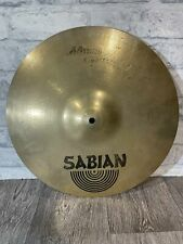 """More details for sabian aa rock crash cymbal 16""""/41cm cymbal drum accessory"""