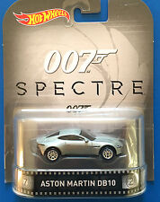 2016 Hot Wheels Retro Entertainment JAMES BOND 2015 ASTON MARTIN DB10 - mint!