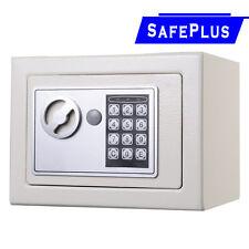 NEW Small White Digital Electronic Safe Box Keypad Lock Home Office Hotel Gun