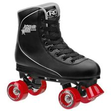 Roller Derby Roller Star 600 Mens Quad Skate Size 10 Black/ Red NEW