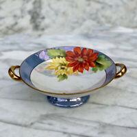 Vintage Noritake Morimura Lusterware Porcelain Floral Olive Sides Service Dish