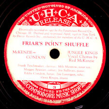 Jungle Kings & Red McKenzie-VOCAL-Friar 's Point Shuffle gommalacca 78rpm x2876