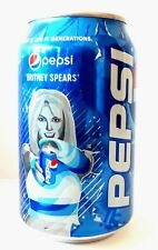 Britney Spears PEPSI Russia Exclusive limited can from Russia Bottom Open 330