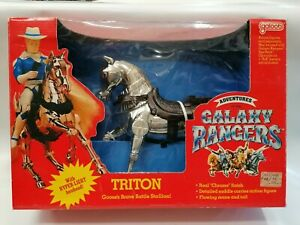 GALAXY RANGERS - TRITON BATTLE STALION - GALOOB - 1986