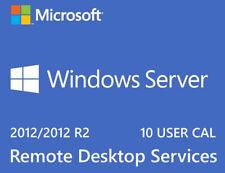 Windows Server 2012 R2  Remote Desktop Services 10 User Cal Digital License key