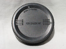 Rear lens CAP for CANON AF ,- EF , EF-S lens  mount made by Sigma  #01243