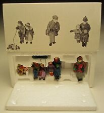 Department 56 Christmas Village Collection Christmas in the Park Three Figures